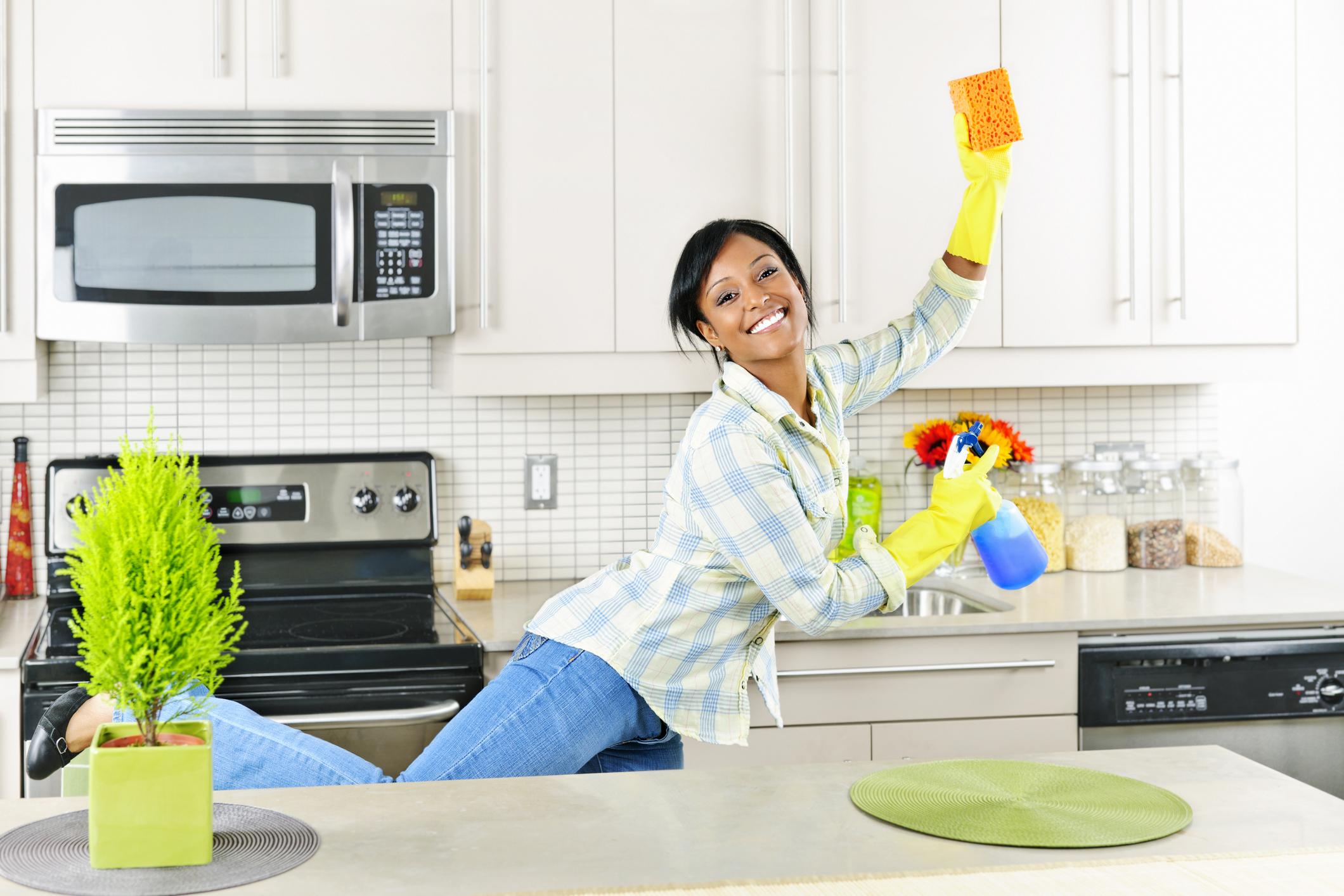 У домохозяйке швабра в попе 18 фотография