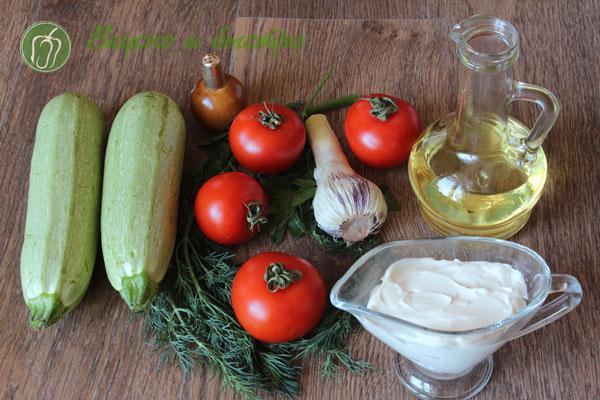 Кабачки жареные на сковороде - Ингредиенты