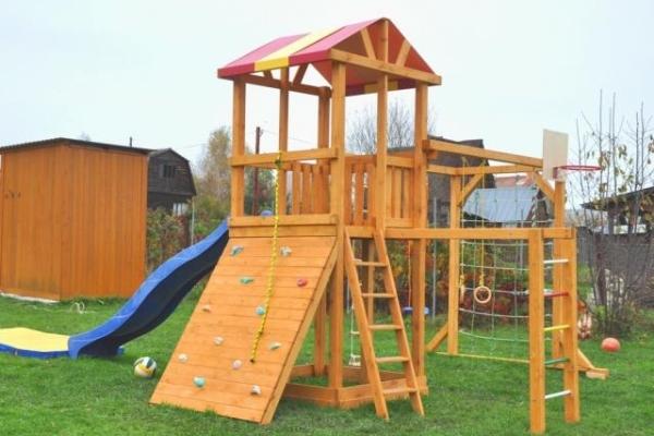 Как выбрать игровую площадку для ребенка