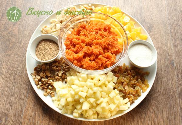 Салат из молодой моркови