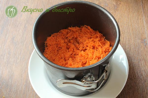 Рецепт салата морковь с чесноком и майонезом