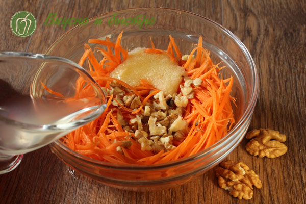 Салаты из сырой моркови рецепты с фото