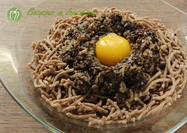 Котлеты гречаники рецепт с фото- грибной фарш