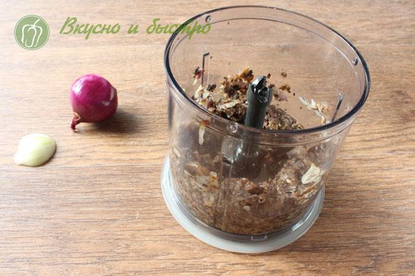 Как сделать гречаники - грибы в блендере