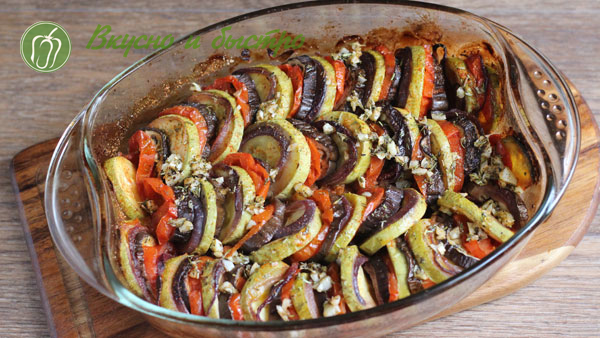 Как приготовить рататуй овощной