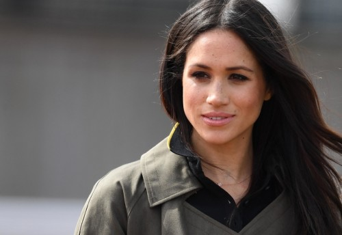 Prince Harry and Meghan Markle attend the Invictus team trials