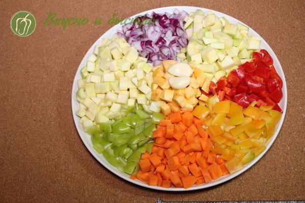 IРнезаные-овощи