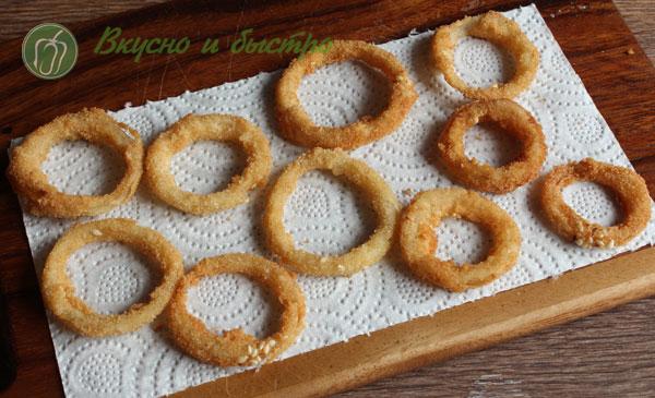 чипсы луковые кольца