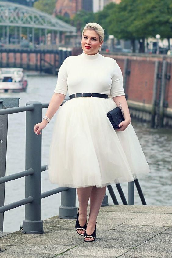 Мода для женщин-ХХL в 2018 году: Как выглядеть стильно?