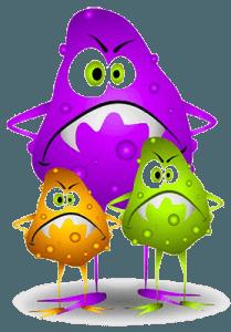 Вирус и микробы