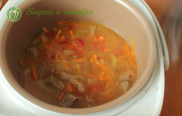 говядина тушеная с черносливом старинный рецепт = добавили томаты