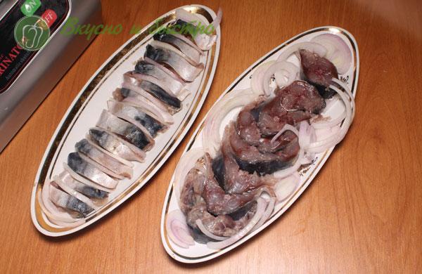 Вкусный рецепт маринованмия скумбрии