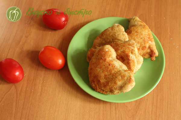 Курица маринованная в майонезе с чесноком в маринаторе