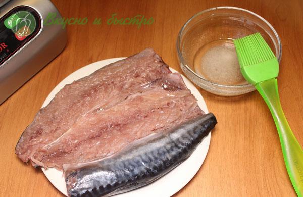 Рецепт маринования скумбрии в домашних условиях в маринаторе