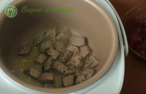 говядина с черносливом тушеная рецепт